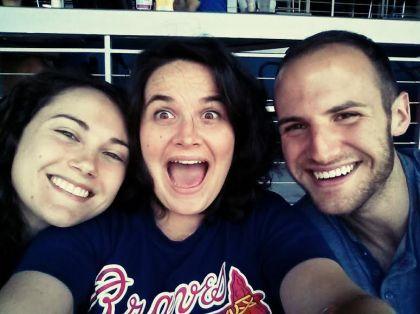 kari, kels, and clark. i hardly ever take a serious photo.
