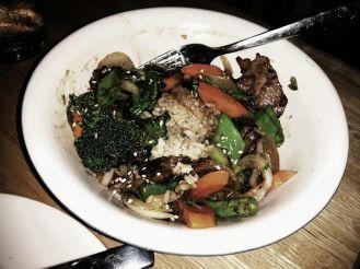 steak teriyaki bowl.