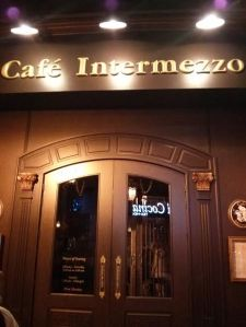 café intermezzo in midtown.