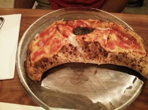 the calzone.