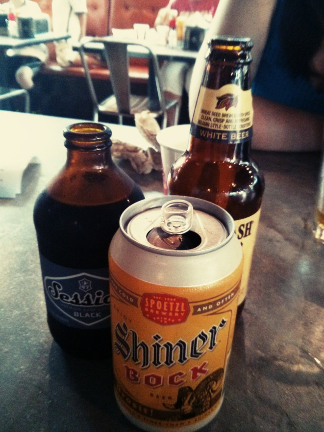 session, shiner, allagash.