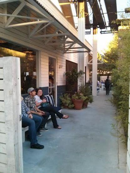 waiting on the cabanas.