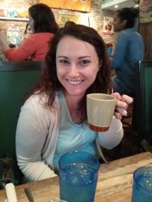 kari with coffee!