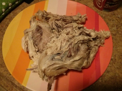 chicken carcass!