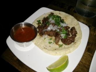 steak taco.