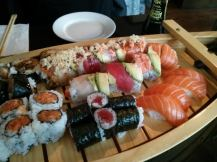 assorted sushis!