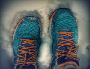 snow running:  as unproductive as it sounds.
