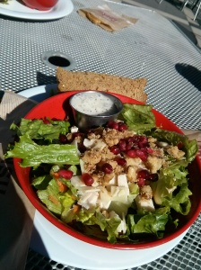 pomegranate salad.