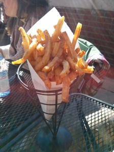 frites.  for breakfast.  noms.