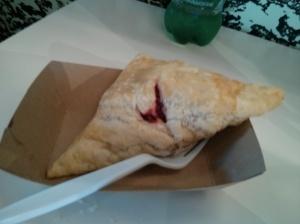 raspberry scone.