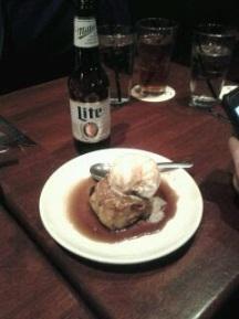 it's miller & dessert time!