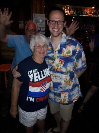 Aunt Leona & Kyle.