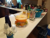 the punch was a hit!