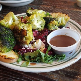 charred broccoli salad.