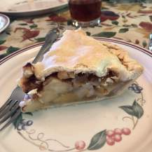 the pie was delicious!