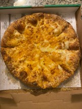 four cheese pizza from marco's.