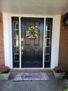 a spruced up entry way to welcome you. :)