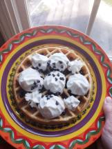 a waffle fit for a queen. :)